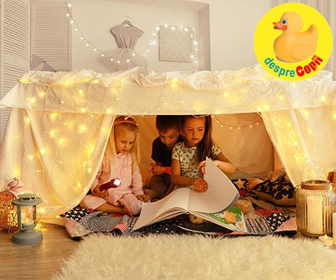 Construieste si tu un fort pentru copilul tau: 10 idei fantastice