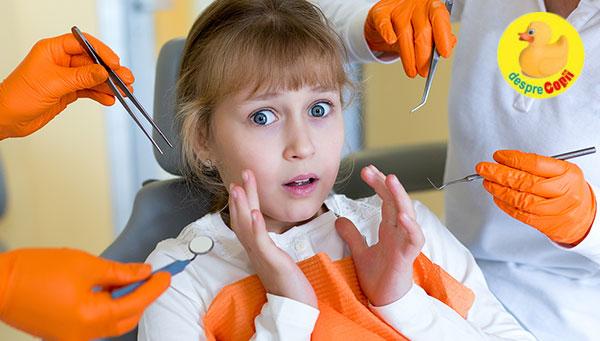 Cum eliminam frica de dentist a copiilor: sfatul psihologului