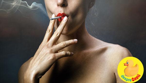 Fumatul afecteaza fertilitatea femeilor si barbatilor - in plus poate afecta din start sanatatea bebelusului care se va naste
