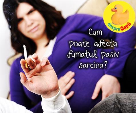 Cum poate afecta fumatul pasiv sarcina?