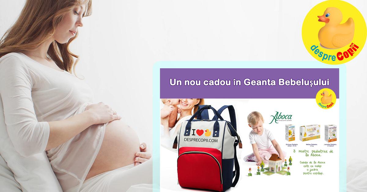 Produse pediatrice de la Aboca - alaturi de gravidute la Geanta Bebelusului editia 6