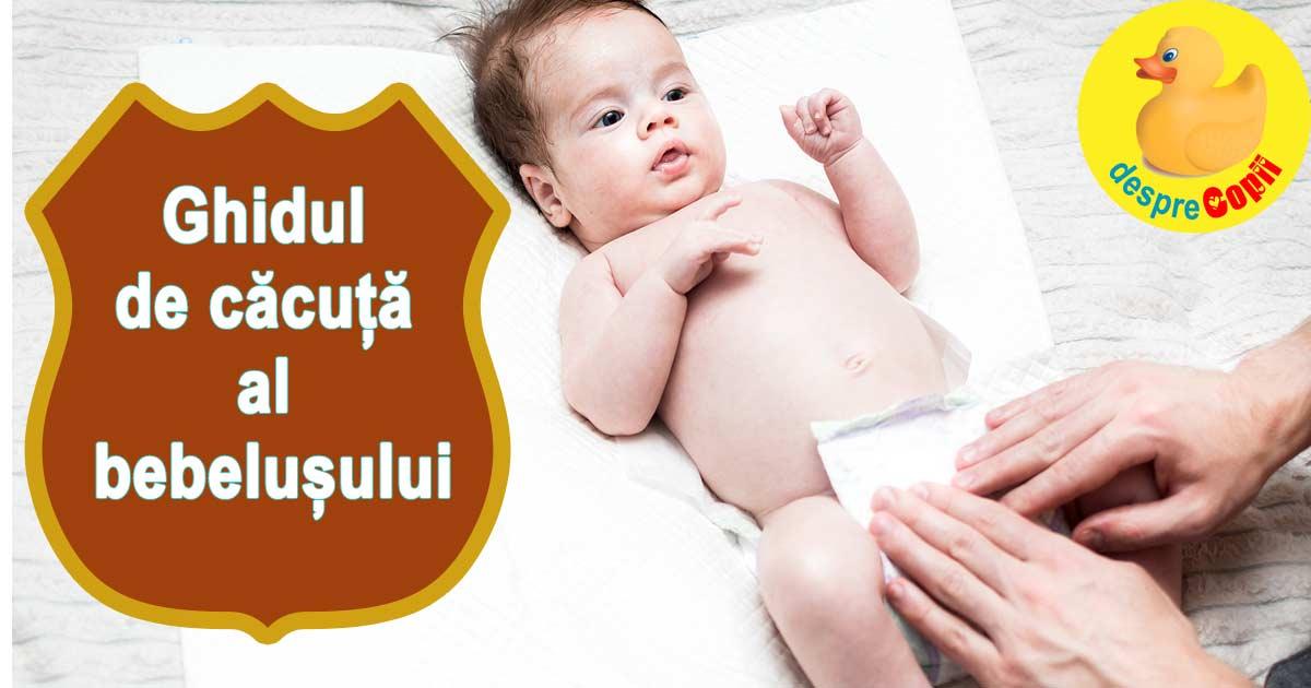 Ghidul de cacuta al bebelusului: parintii de bebelusi stiu de ce
