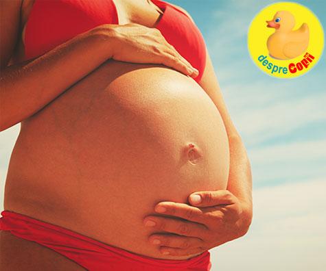 Sfaturi pe vreme de canicula pentru gravidute