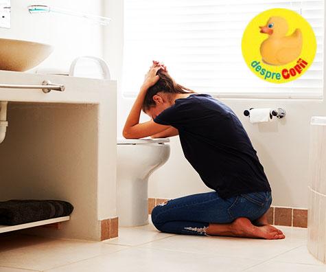 Varsaturile si greturile pot afecta bebelusul? Acestea sunt alte frici de sarcina
