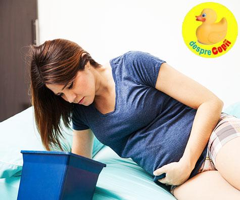 Greturile de dimineata in timpul sarcinii sunt un semn bun
