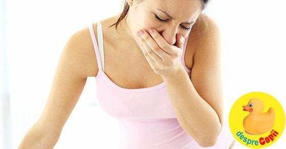Metode de combatere a greturilor in timpul sarcinii