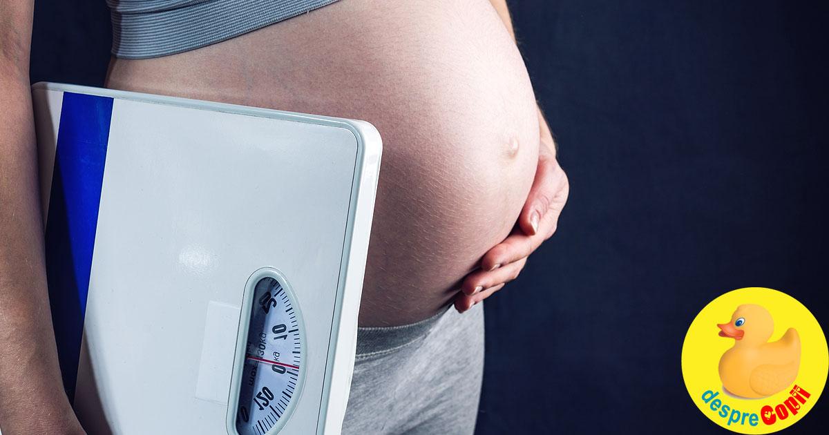 Greutatea din timpul sarcinii si riscul de autism la copil - ce este adevar si ce nu