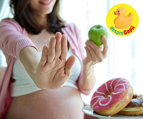Greutatea in sarcina, intre ciocan si nicovala - din realitatile unei gravidute