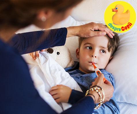 Sezonul gripei se apropie: ce trebuie sa stii si cum iti poti proteja copilul de gripa