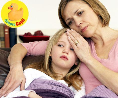 Gripa la copil: simptome si tratament