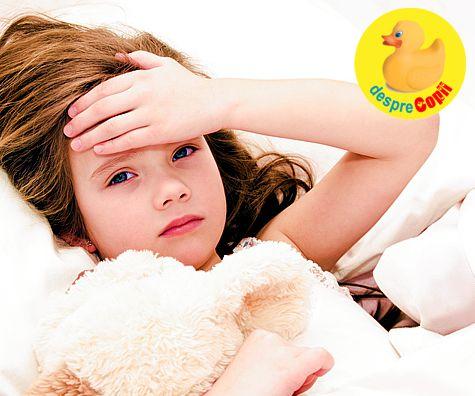 Cum invatam copilul sa scape de gripa