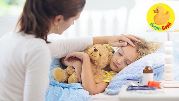 Cand copilul tau are gripa - iata ce trebuie sa faci si cum iti ajuti copilul