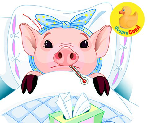Gripa porcina: simptome, protectie si tratament