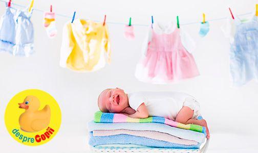Hainele bebelusului: de ce este bine sa le dezinfectam