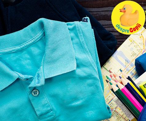 Incepe scoala: articole de imbracaminte necesare unui scolar