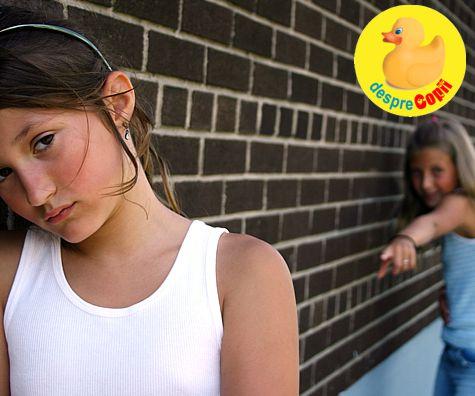 Intimidarea si hartuirea intre copii: cum ne ajutam copilul sa se descurce