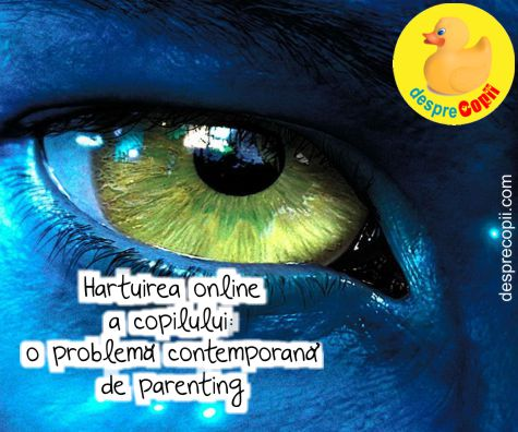 Hartuirea online copilului: o problema contemporana de parenting