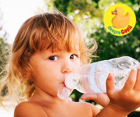 De cata apa are nevoie un copil in functie de varsta