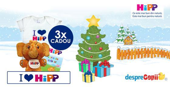 CONCURS - Castigati premii speciale de la HIPP, in prag de sarbatori!