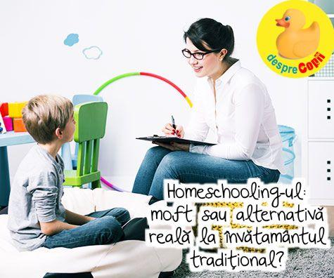 Homeschooling-ul – moft sau alternativa reala la invatamantul traditional?