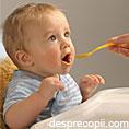 Mancarea preparata in casa ajuta la hranirea sanatoasa a bebelusului