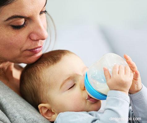 Hranirea mixta a bebelusului