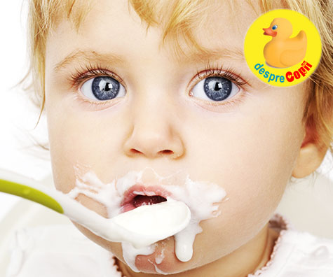 Introducerea lactatelor in alimentatia bebelusului: ghid pe luni