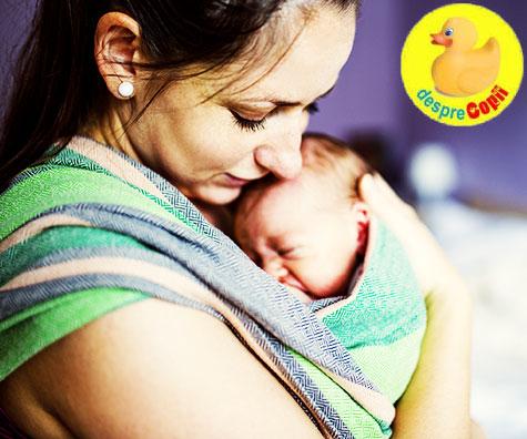 De ce este bine sa va imbratisati mai mult bebelusul?