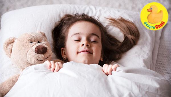 Somnul de amiaza si cel de noapte maresc memoria emotionala in copilaria timpurie