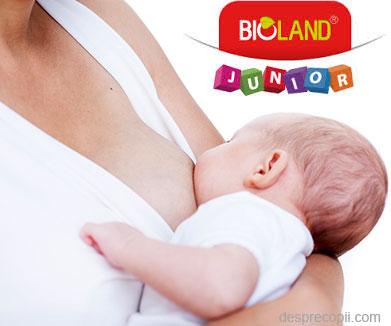 Imunitate puternica din primele zile de viata