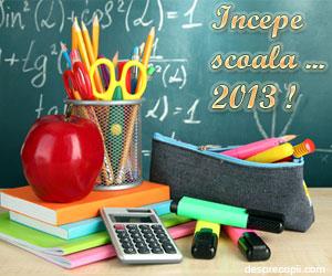 Progamul anului scolar 2013-2014