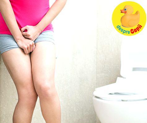 Incontinenta urinara dupa nastere: prevenire si tratament