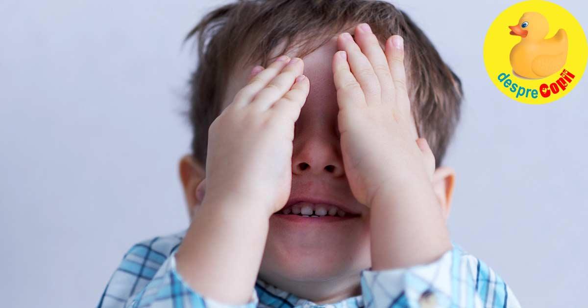 Cand copilul nu are incredere in el. Cum il ajutam - sfatul psihologului.