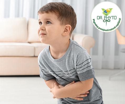 Importanta unei alimentatii echilibrate la copii si tratarea indigestiei