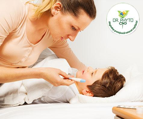 Cum tratam infectiile respiratorii la copii prin fitoterapie?