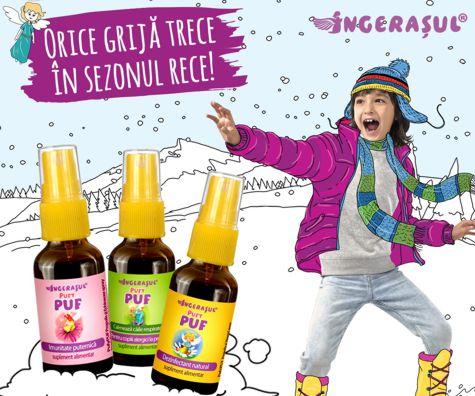 Orice grija trece in sezonul rece cu cele trei produse de la PufyPUF (P)