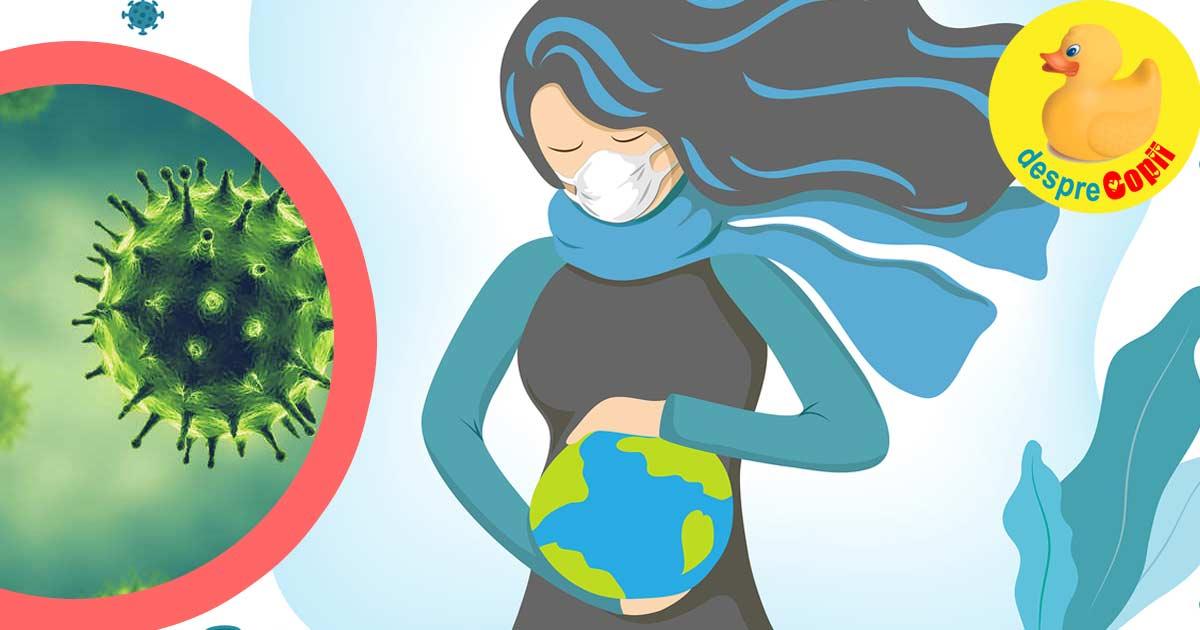 Sunt gravida in timp de pandemie de coronavirus - anxietate si situatii la care inca nu stiu ce voi face