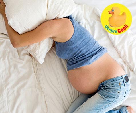 Insomnia in timpul sarcinii