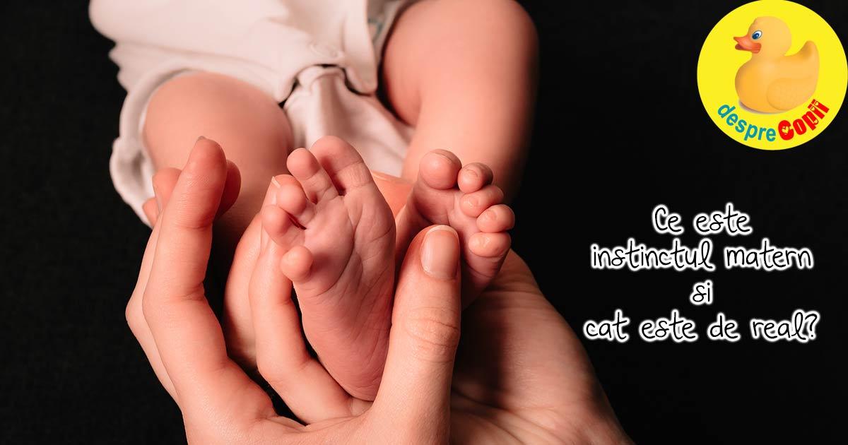 Instinctul matern - acel sentiment unic de dragoste si protectie