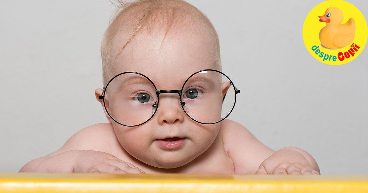 Cat de inteligent este bebelusul tau? Exista deja indicii despre inteligenta sa.