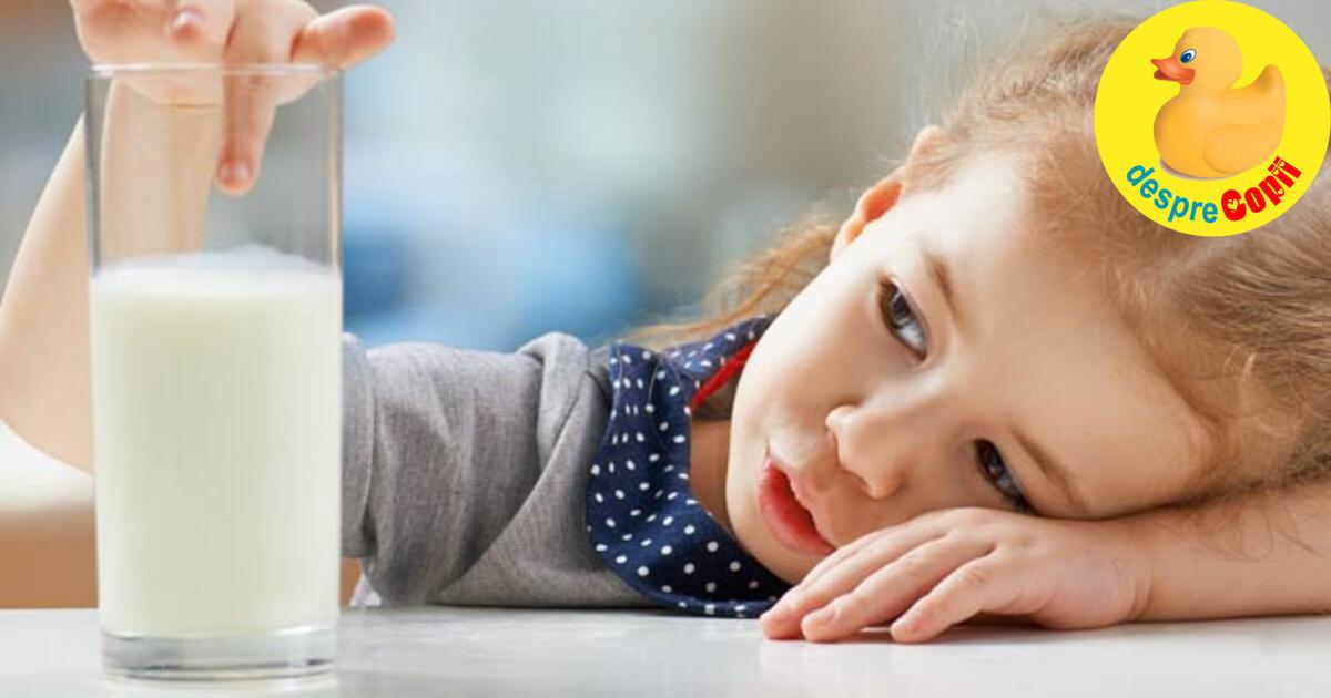Intoleranta la lactoza la copil: 7 simptome de urmarit