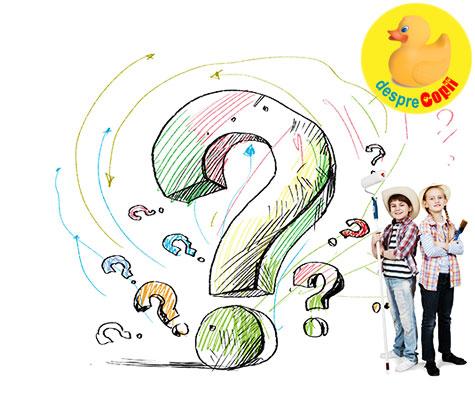 5 moduri de a raspunde la cele mai dificile intrebari ale copiilor