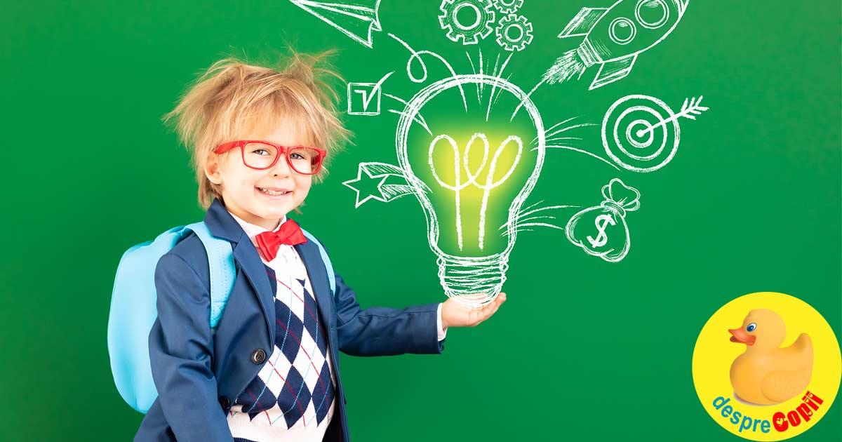 IQ-ul unui copil: cum se calculeaza si de ce trebuie atent evaluat