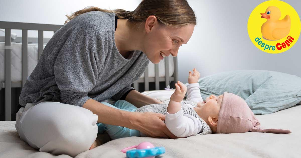 Importanta jocului cu bebelusul: baza increderii in sine