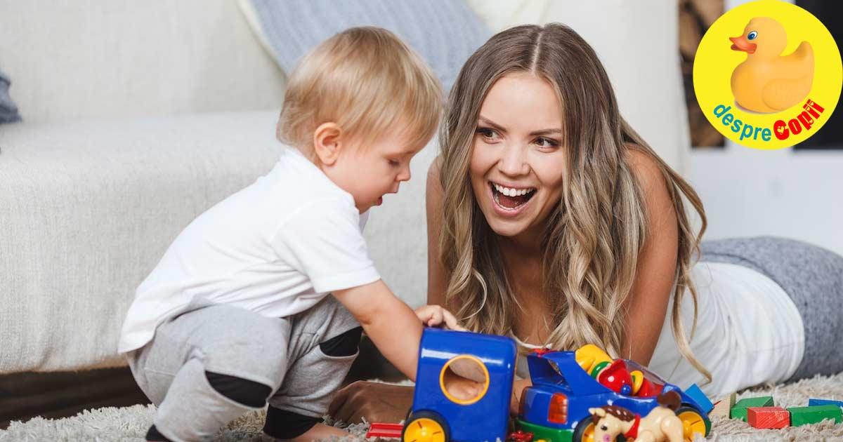 Ne jucam impreuna si invatam - iata cum ne putem juca in casa cu copiii