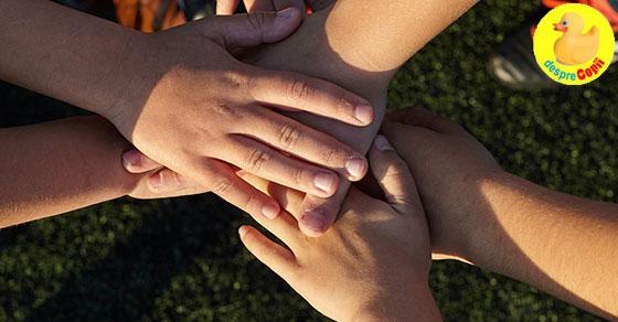Joaca in echipa - nu doar un slogan, ci un aspect important in dezvoltarea copilului tau