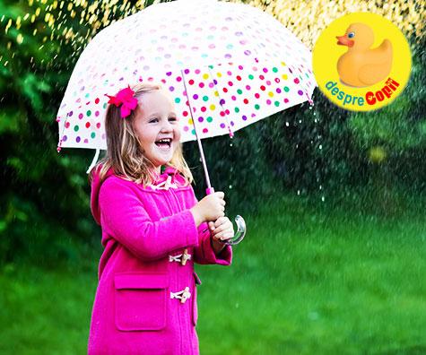 41 de activitati pentru copii - pentru zilele ploioase