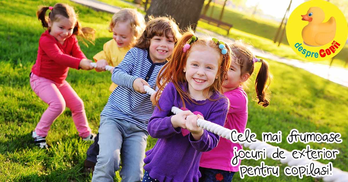 38 de jocuri in aer liber - pentru copii de toate varstele