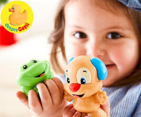 Alege jucarii care stimuleaza inteligenta copilului tau