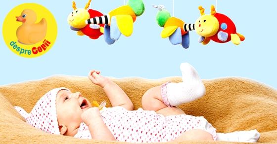 Jucarii pentru bebelusul nou nascut: de care si de ce